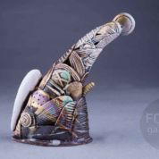 """Angel"" by ceramics artist Alexander Lvovich. Focus Gallery"