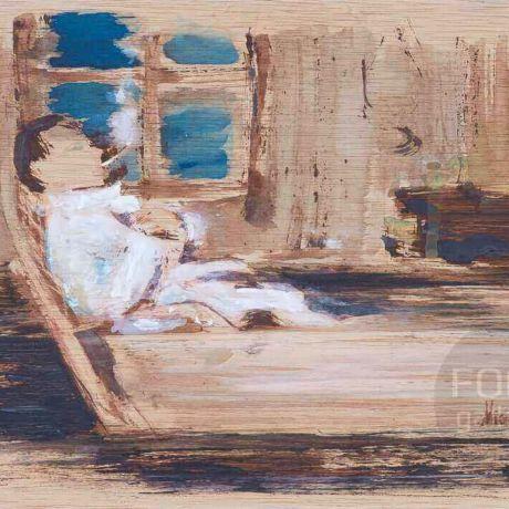 """""""Я и сигаретка"""", Автор: Расим Михаэли."""