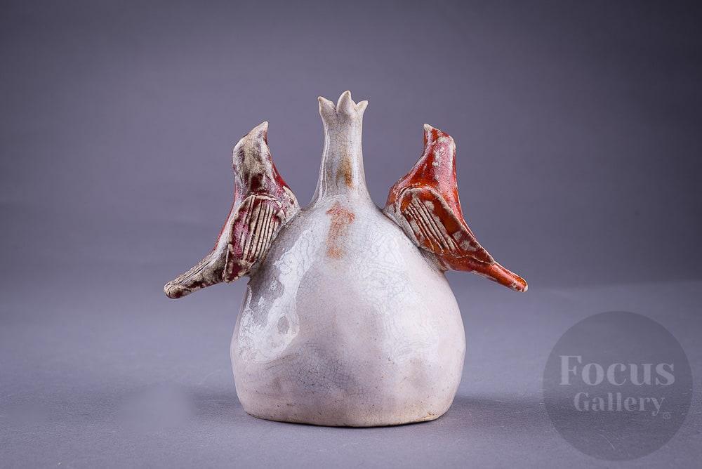 керамика, глазурь, пит-файринг